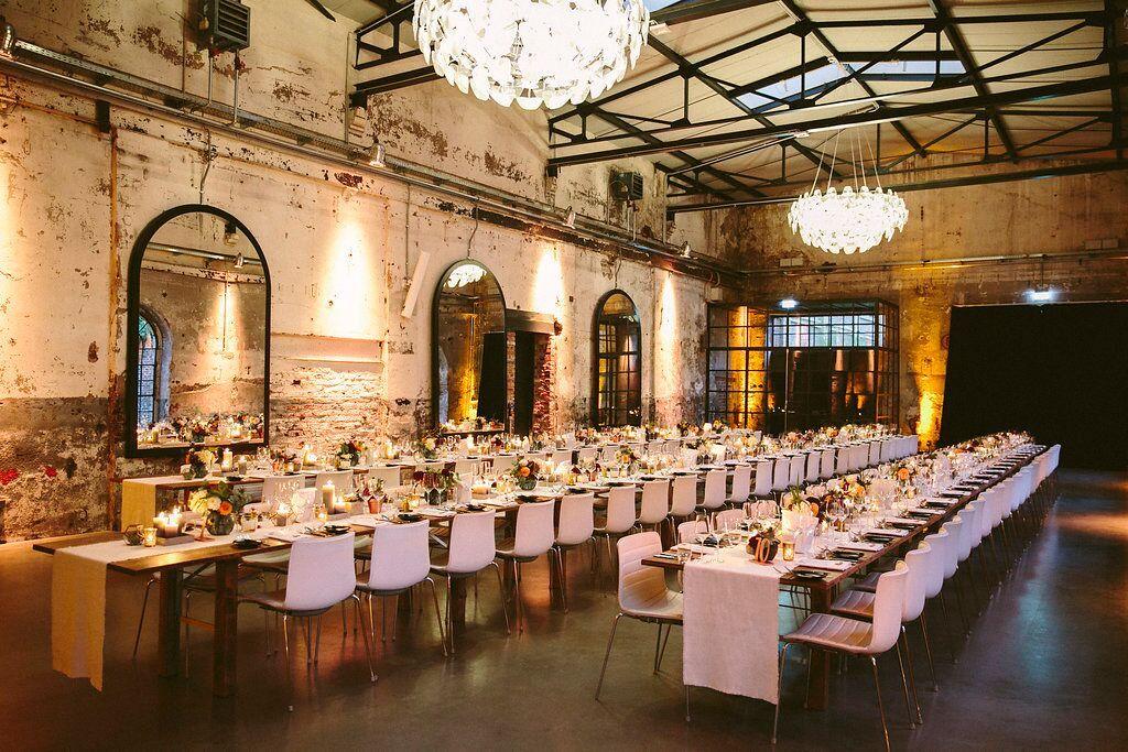 Urbane Hochzeitslocations in Berlin, Hamburg, Köln, München, Nürnberg und Bremen