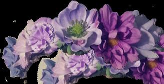 Flowercrown Masterpost Digital Flowers Flowers Purple Flowers