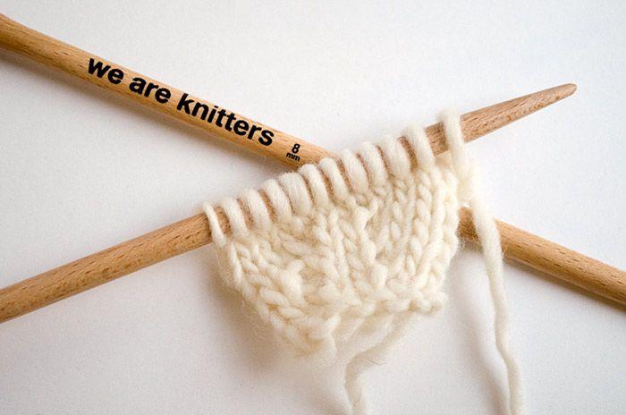 b0161d50710e7 Comment faire des augmentation symetriques sur vos ouvrages en tricot. Voici  la liste définitive pour savoir à tout moment quel type d'augmentation faire .