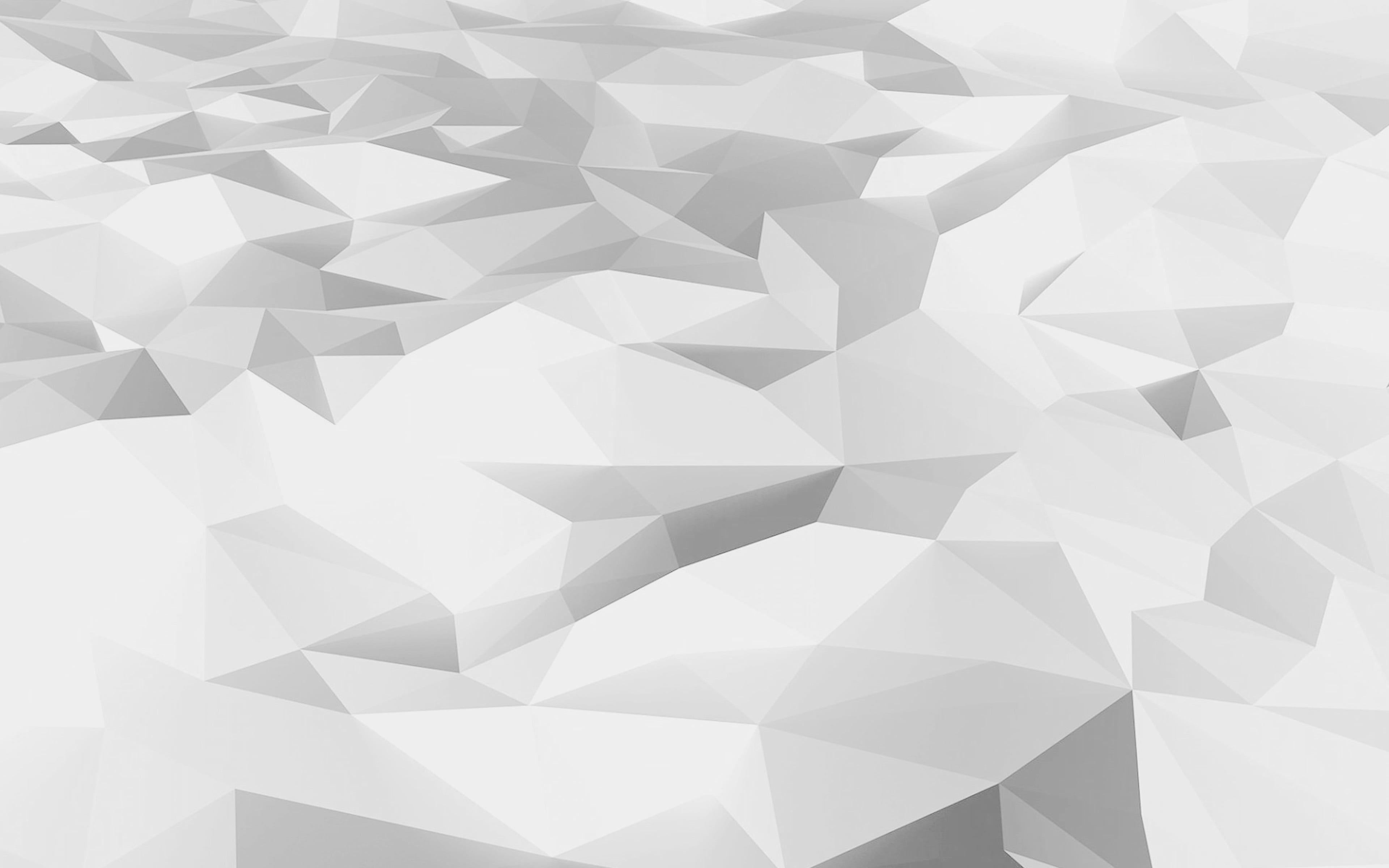 Low Poly Art White Pattern 4k Wallpaper Hdwallpaper Desktop In 2020 Wallpaper Hd Wallpaper Abstract