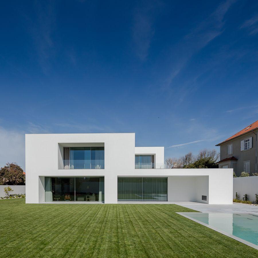 Project designed by sebasti o moreira house in foz for Casa moderno kl