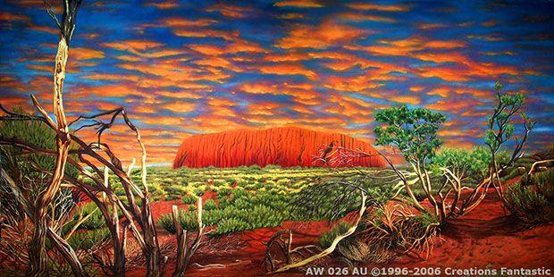 world landmarks themed event backdrops fantastic australia