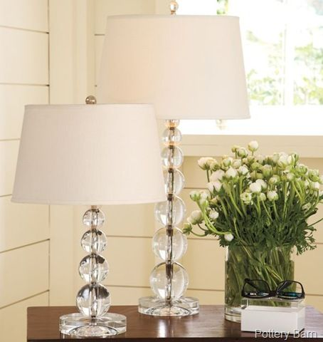 Love The Lamps Table Lamp Glass Lamp Base Bedside