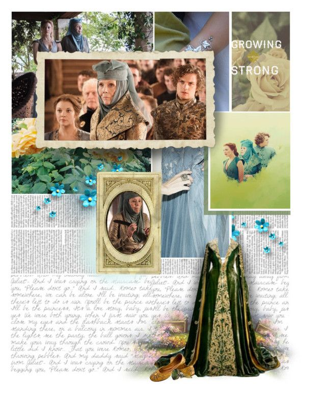 """»» Women: Olenna Redwyne ««"" by lejournaldessecrets ❤ liked on Polyvore featuring GameOfThrones and tyrell"