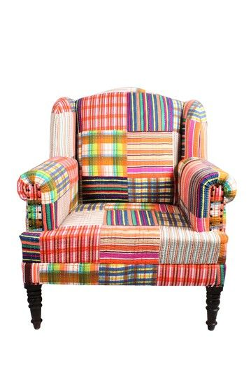 Bengali One of A Kind Chair - Multi by Global Collection on @HauteLook