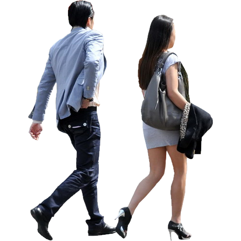 Couple walking silhouette | PS Human | Pinterest ...