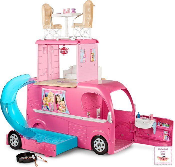Autocaravana De Barbie Munecas Dolls Pinterest Barbie