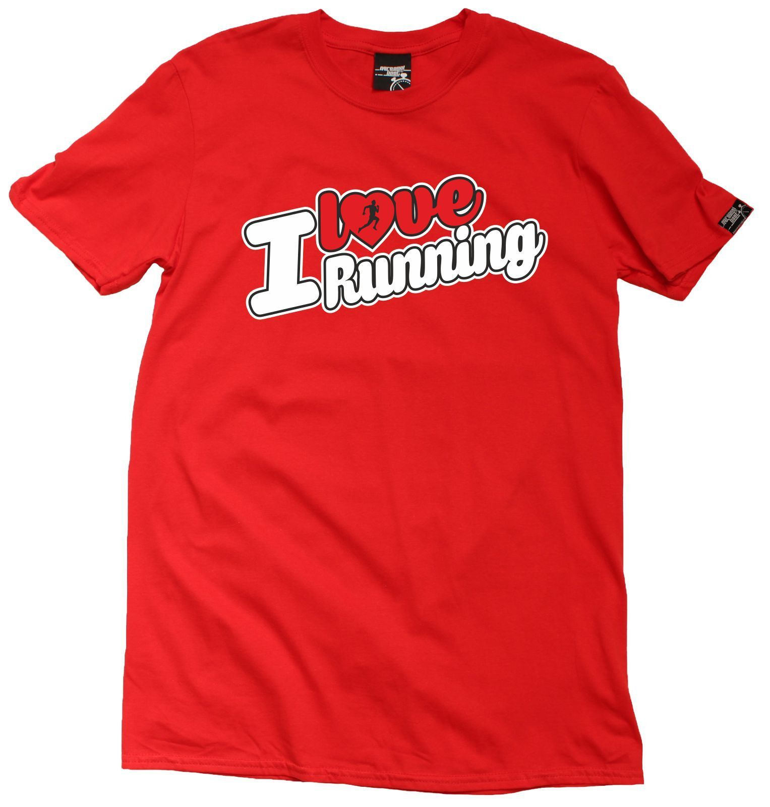 Personal Best Men's I Love Running T-Shirt