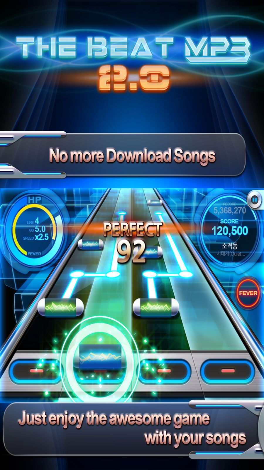 BEAT MP3 2.0 Rhythm Game GamesCREAPPTIVEMusicios