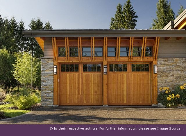 Great Design Of Garage Door With Clerestory Windows Above