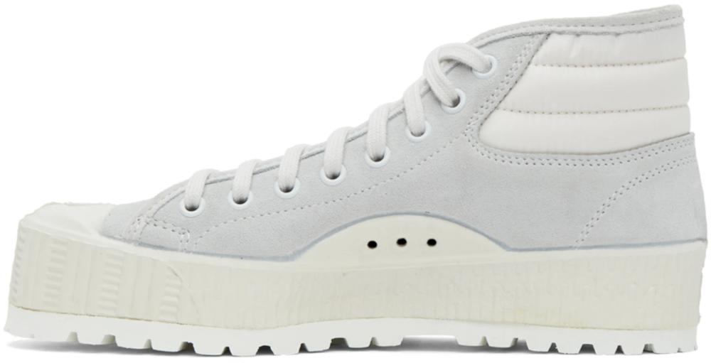 Spalwart - Grey Mid Pad Sneakers in