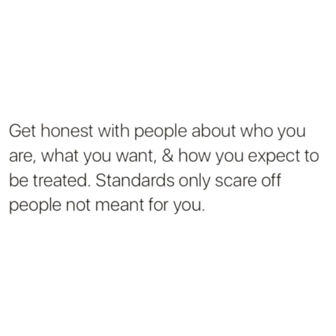 Get Straight With People From The Get Go Words That