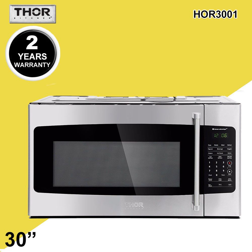 30 Thor Countertop Microwave Ovens 1 7cu Ft Build In Stainless