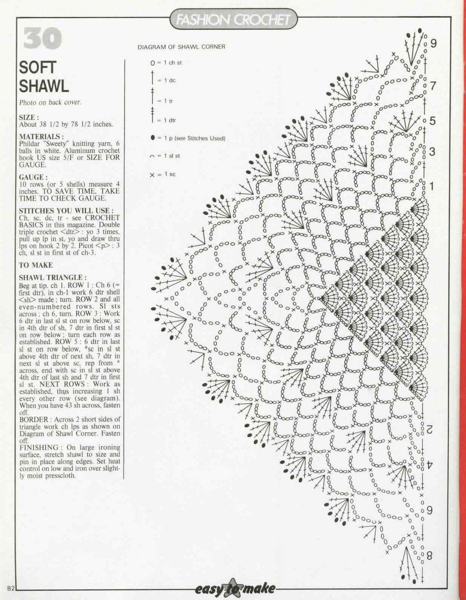 70-Magic-Crochet-82.jpg   Crochet Shawls and Scarfs with Pattern ...