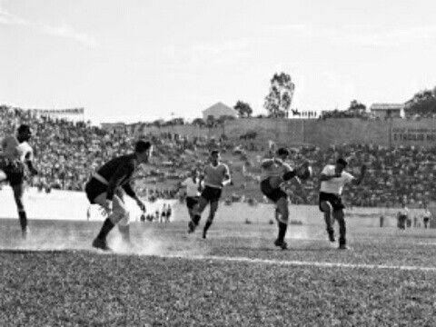 Uruguay 8 Bolivia 0 in 1950 in Belo Horizonte. Uruguay have to ...