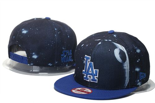 22c7130eecf22 Los Angeles Dodgers Death Star Galacy SW x MLB 9FIFTY Fit Snapback Hat Navy  266