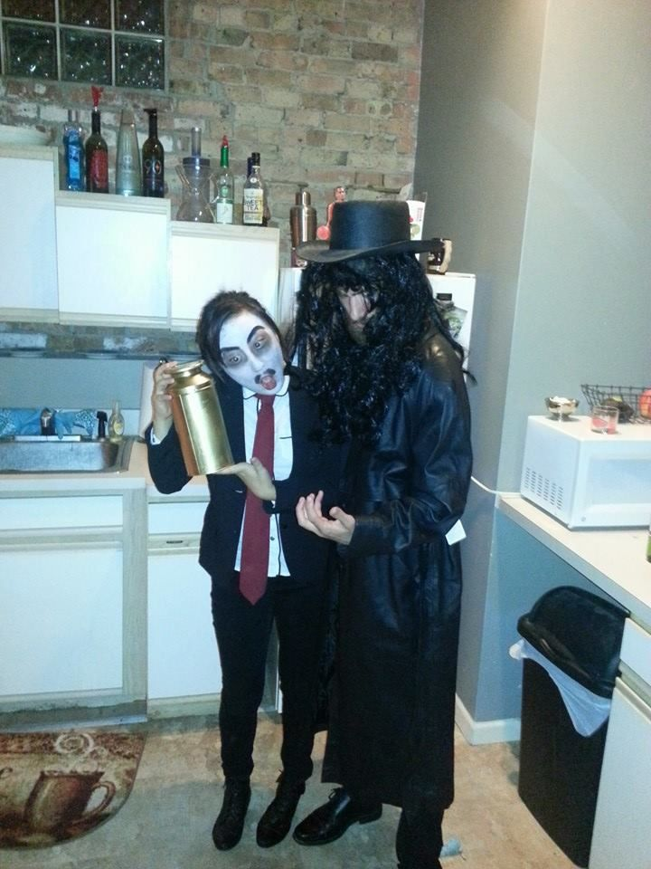 wwe inspired undertaker and paul bearer couple halloween costumes top 10 couple halloween - Top 10 Couple Halloween Costumes