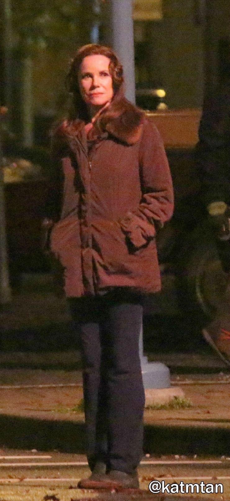 Barbara Hershey on set - 04 Nov 2015