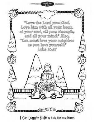 52 Scriptures Every Kid Should Know Get The Free Printable Bible Memory Verses Coloring