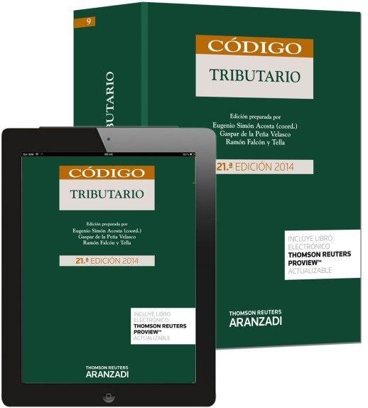 Código tributario. Aranzadi, 2014. D/V/L/4 (2014). 95 préstamos sept-oct 2015
