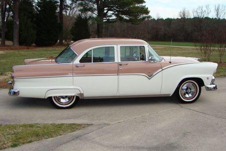 1955 Ford Fairlane Con Imagenes Coches Clasicos Coches Clasicos