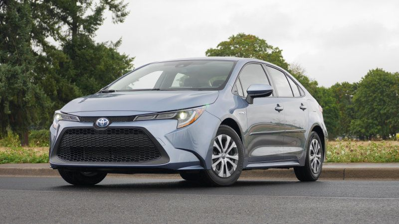 2020 Toyota Corolla Hybrid Second Drive Fuel Economy Pricing Features Toyota Corolla Toyota Corolla