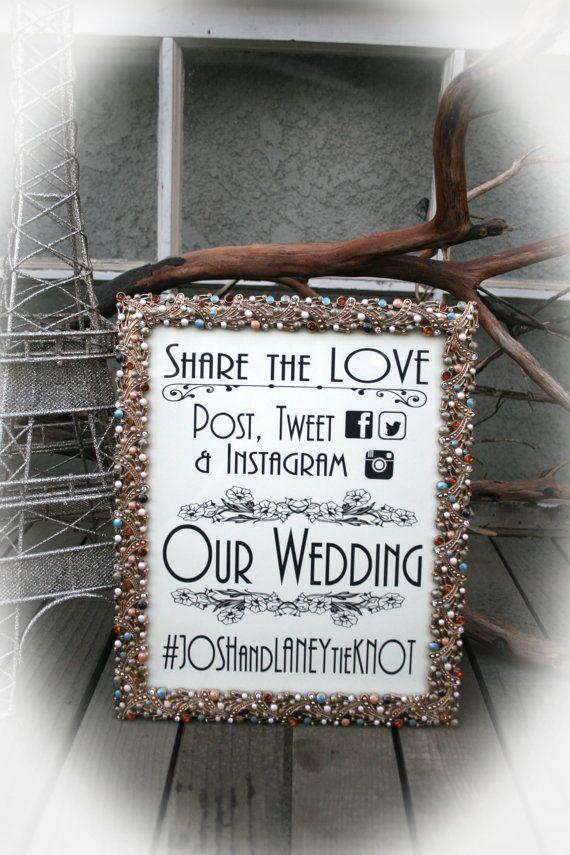 Hashtag Anniversario Matrimonio.Cartello Retro Hashtag Matrimonio Matrimonio Idee Instagram