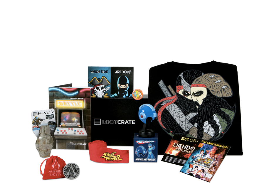 Loot Crate™ Monthly Geek and Gamer Subscription Box