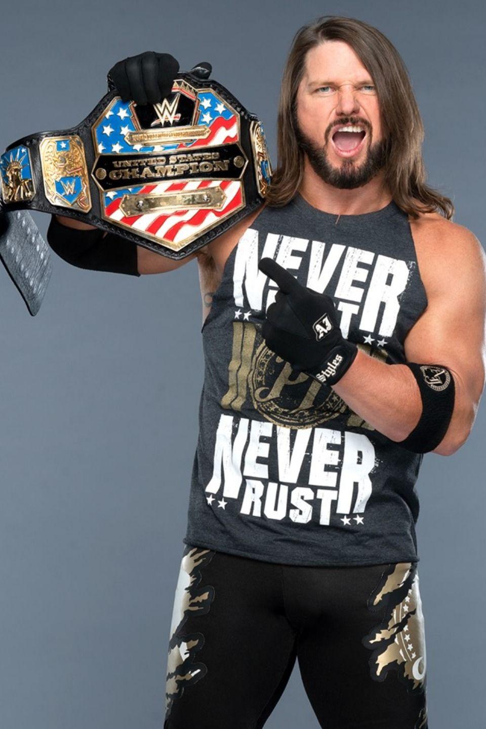 Aj Styles Never Rests Aj Styles Wwe Aj Styles Wrestling Superstars