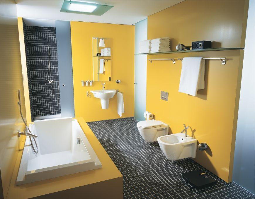 Duravit - Bathroom design series: Starck 2 - washbasins, toilets, bidets and urinals from Duravit.