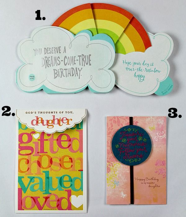 Top 10 birthday wishes help me choose the perfect card help true aim choose the perfect hallmark birthday card for her daughter birthdaysmiles shop bookmarktalkfo Gallery