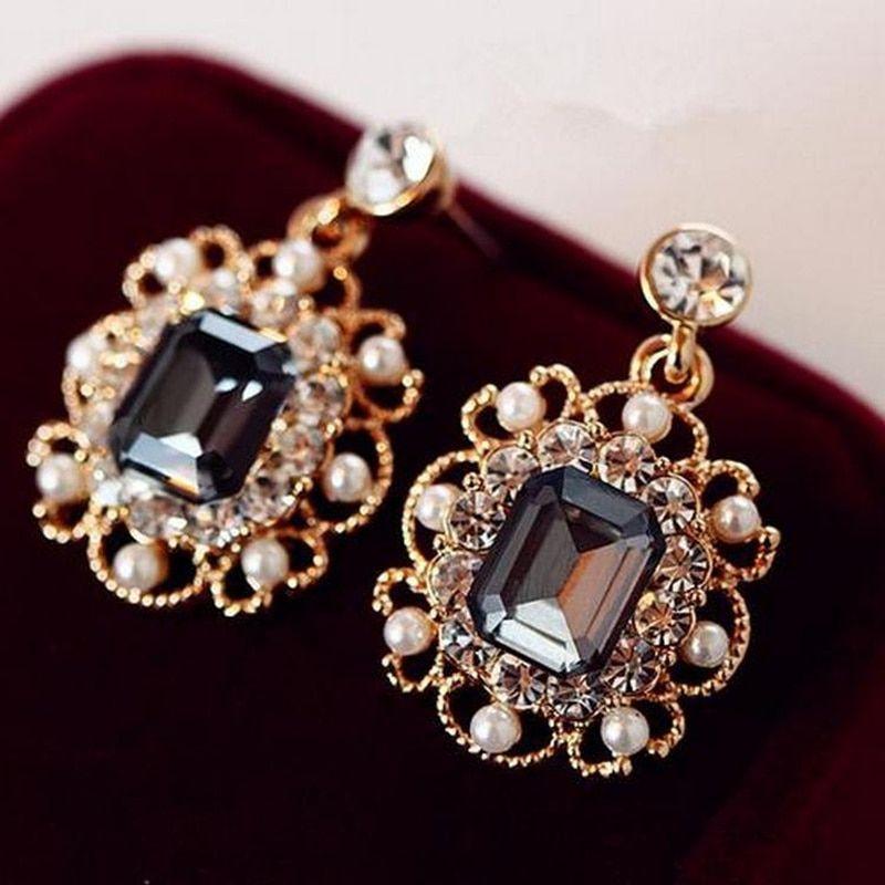 Cheap Stud Earrings Buy Directly From China Suppliers Yimloi 2019 Newest Korean Earrings Ladies Jewelry Pe In 2020 With Images Fancy Earrings Crystal Pearl Earrings Women Jewelry