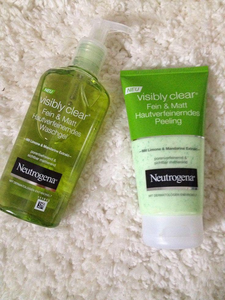 Neutrogena sichtbar klar - Zitrone & Mandarin - Bewertung (CBYJ) - Hautpflege und Make-up - #amp #care #Bewertung #CBYJ #skin