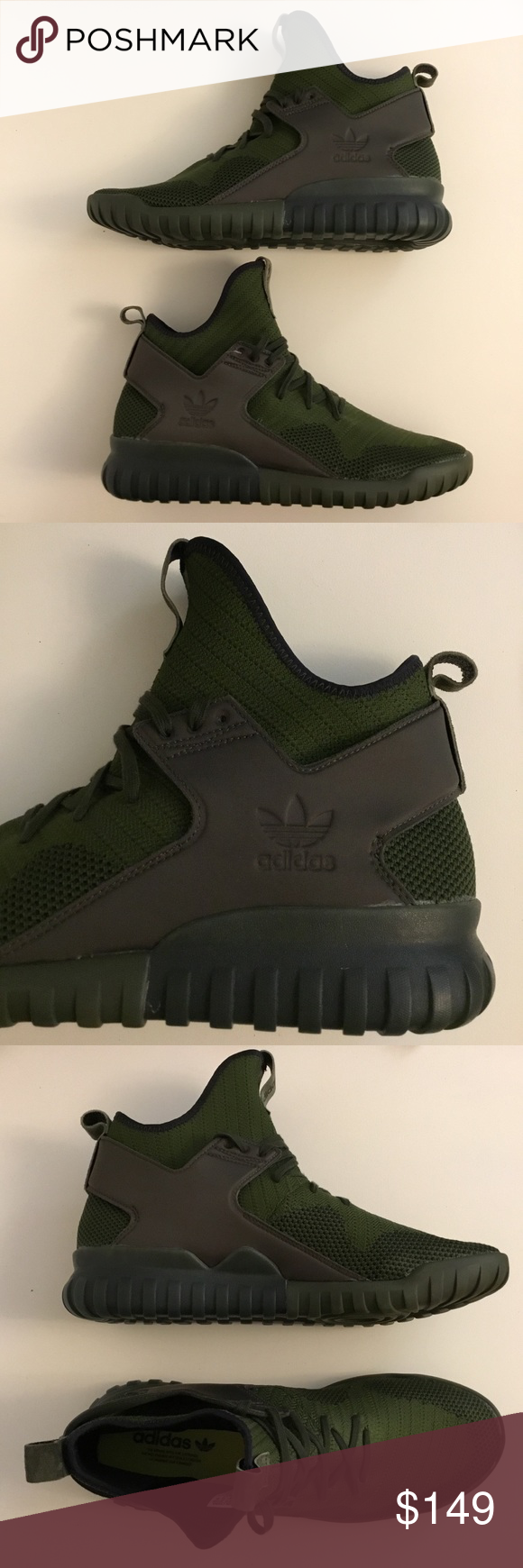 Adidas originali tubulare x scarpe alte nwt adidas