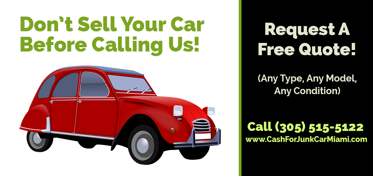 Don't sell your car before calling us! Request a free