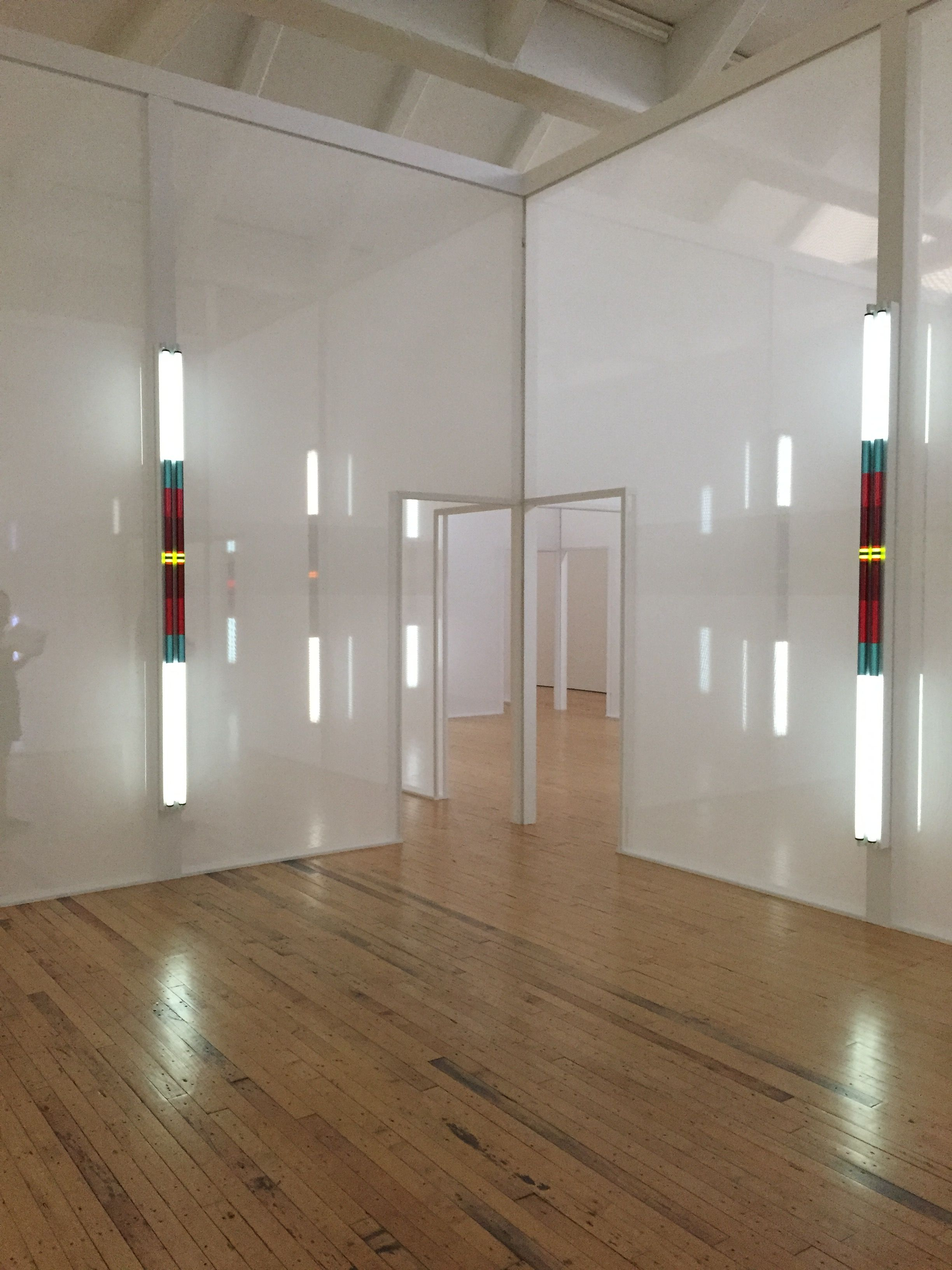 Robert Irwin Excursus Homage To The Square3 At Dia Beacon