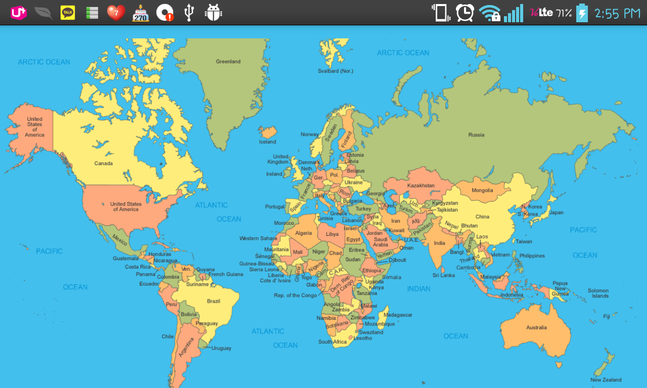 google world map World map with countries, World