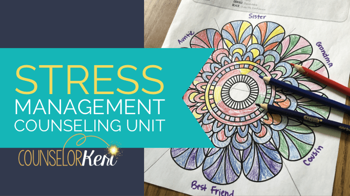 Stress Management Activties for Kids: Teach A Stress Unit ...