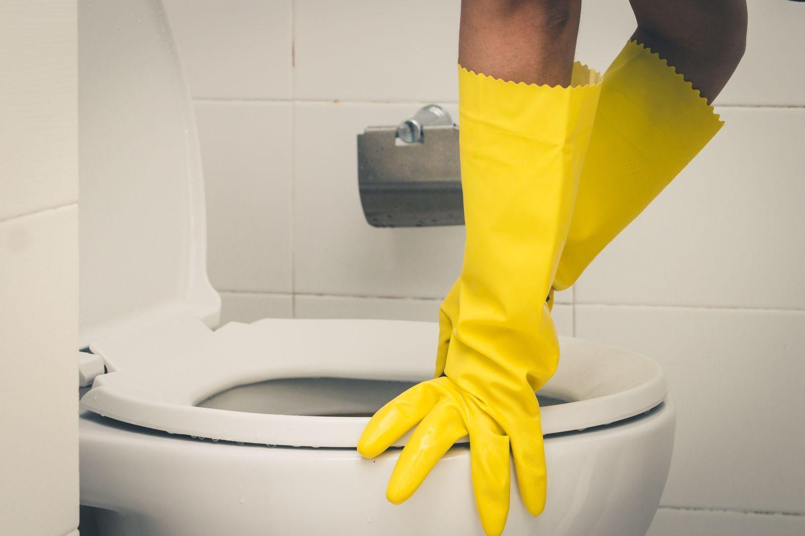 So Entsperren Sie Eine Toilette Nur Mit Ublichen Haushaltszutaten In 2020 Haushalt Toiletten Zutaten