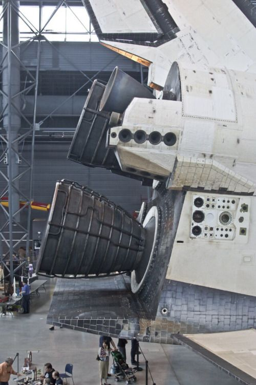 U S Space Shuttle Engine Detail Looks Like It S In The Smithsoniam Air Space Center The Adjuct Hanger Space Shuttle Nasa Space Shuttle Space And Astronomy