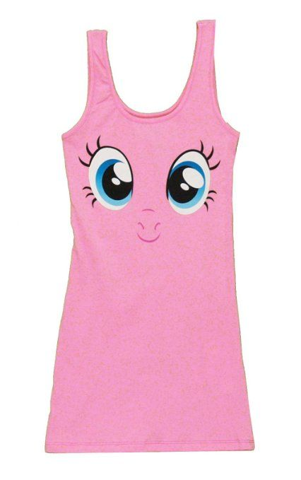 1a56fcc653ed Amazon.com  My Little Pony Pinkie Pie Big Face Light Pink Juniors ...