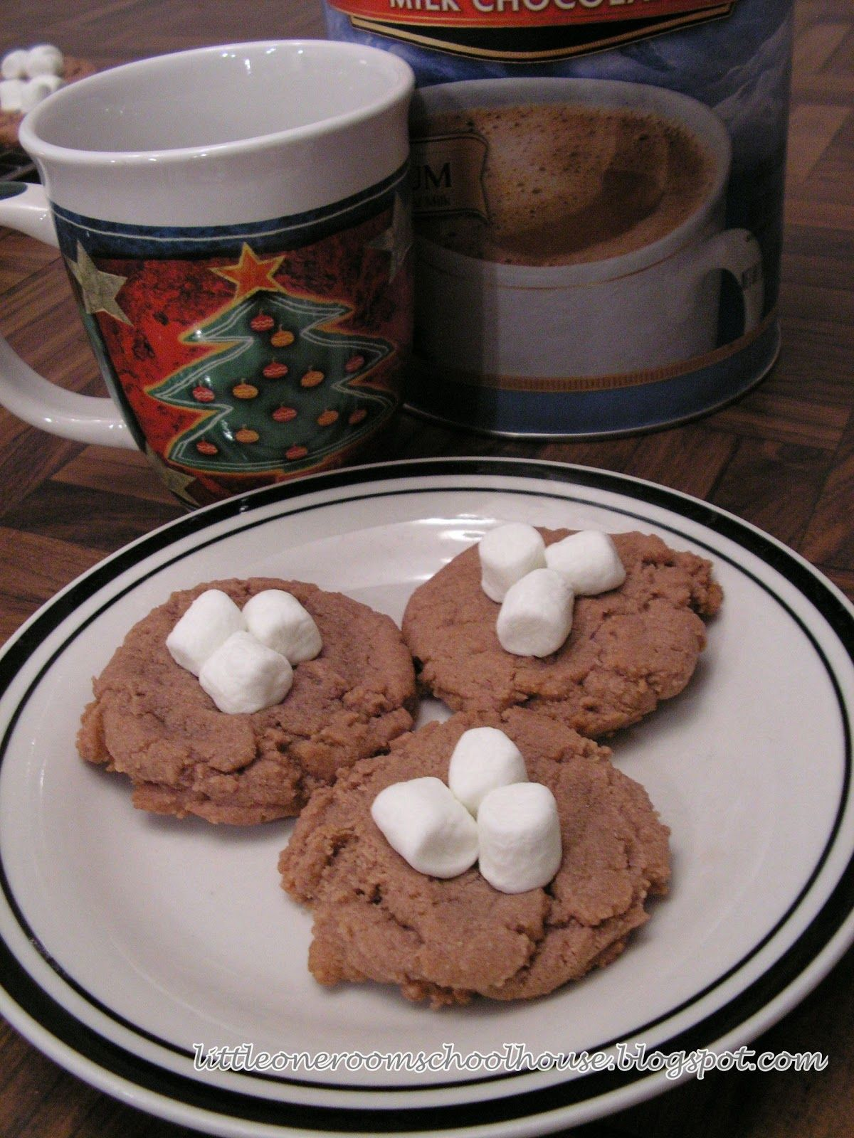 My Little One-Room Schoolhouse: Hot Cocoa Cookies - A Virtual Cookie Swap