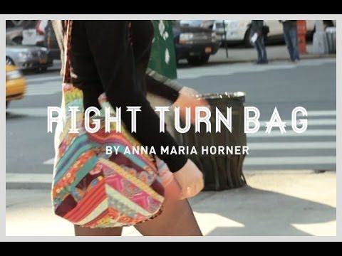 Anna Maria Horner + Janome: Right Turn bag | SEWING | Pinterest