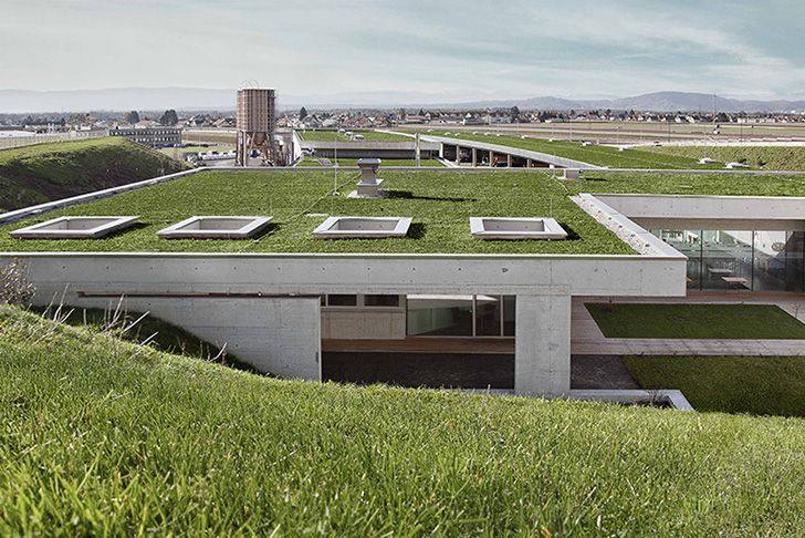 Luscious Green Roofs Top A Modern Tunnel Monitoring