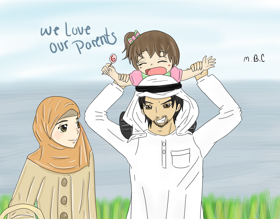 We Love Our Parents By MiSsBeatoChan.deviantart.com On