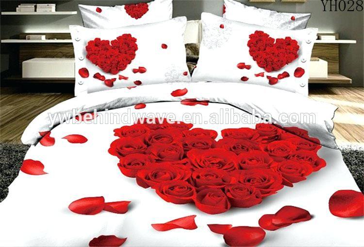 Herz Bettwäsche Innenarchitektur 2019 Bed Bedclothes Und Queen