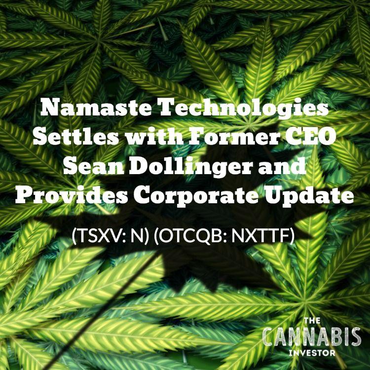 Namaste Technologies Inc  (TSXV: N) (OTCQB: NXTTF
