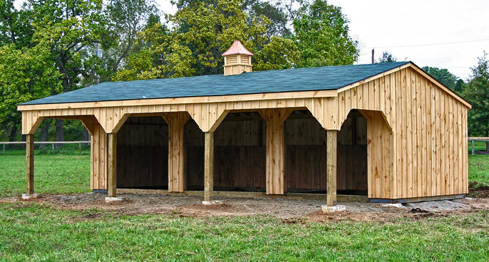 in s diane horse shed pipe sheds neff kits klene run shelters wrangler shelter structure structures