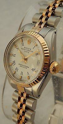 #Trending - Rolex Datejust 26 mm Ladies 18k/SS Gold 6917 Watch Original Dial 1983 https://t.co/ASuScfLFBE #Ebay https://t.co/QnHlVraXJx