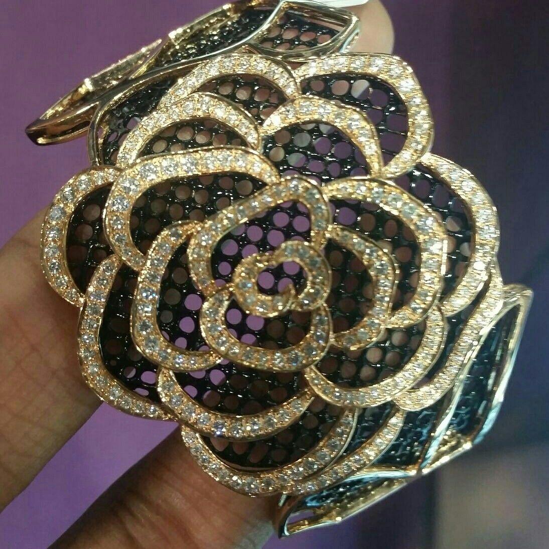 Aksharchoudreefinejewellery design inspired by roses black rose